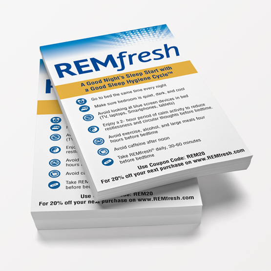 remfresh product information tear pads